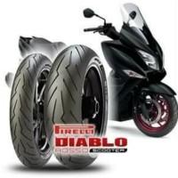 ban for Xmax Aerox Forza ukuran 150/70-14 Pirelli Diablo Rosso Scooter
