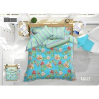 BED COVER SET MY LOVE QUEEN SIZE 160 X 200 T.30cm SPREI NO 2 MY LOVE