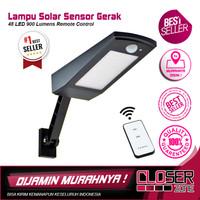 Lampu Solar Sensor Gerak Outdoor 48 LED 900 Lumens Remote Control