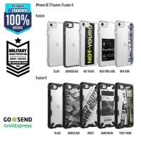 Ringke iPhone SE 2 / 8 / 7 Fusion Casing Softcase Anti Crack Military - CamoBreak