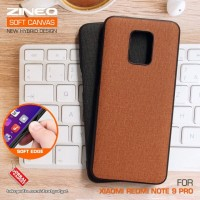 Soft Canvas Case Xiaomi Redmi Note 9 Pro Softcase Hard Silicon Casing
