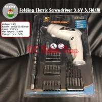 Obeng Tangan Elektrik / Floading Electric Cordless Screwdriver 25in1