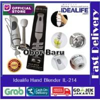 IDEALIFE - Hand Blender - Penggiling Tangan - Single Speed (IL-214)