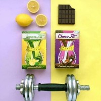 Paket 2 in 1 hemat Chocofit Lemonfit Choco Fit Lemon Fit Set Praktis