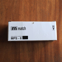 Match MPS 6 MPS6 MPS-6 Universal Keyboard Piano Style Pedal Sustain