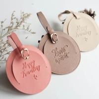 Souvenir Wedding Gift Nikah Perusahaan Corporate Luggage Tag Koper Tas