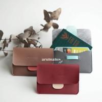 Souvenir Gift Wedding Nikah Perusahaan Corporate Travel Wallet