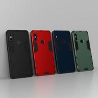 Xiaomi Redmi Note 5 - Pro IRON MATTE Finish Slim Armor Case Shockproof