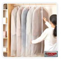 Cover gaun dress PEVA anti air Cover pelindung gaun dress baju gamis - 120 X 60