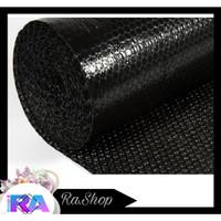 Bubble Wrap (Black) Termurah Ukuran 50 M x 125 Cm (Khusus Grab/Gojek)