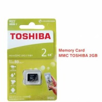 Micro SD Toshiba - Kartu Memory Card - MicroSD Toshiba - MM - 2GB