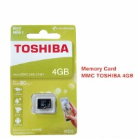Micro SD Toshiba 4GB - Kartu Memory Card 4GB - MicroSD Toshiba - MM