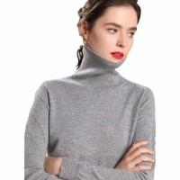 Sweater Turtleneck Roundhand Wanita Knitting – Zizi - NOSH