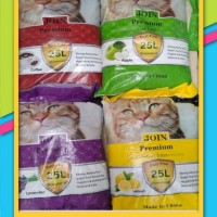Promo Pasir Kucing Gumpal Join Premium 25 Liter Paket 3 Karung/Gojeg