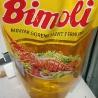 pengiriman hanya dengan gojek/grab minyak goreng 2 lt - Bimoli 2 tl