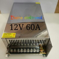 Power Supply 12V 60A Power Suply Swiching 12 Volt 60 Amper Murni