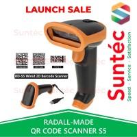 Auto-Scan Barcode Scanner 2D QR Code/ eFaktur Non Wireless RADALL S5