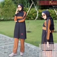 stelan baju olahraga Muslim wanita BELIEVE BMS 24