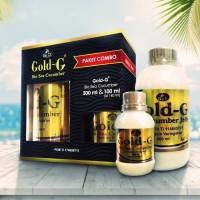 Paket Combo Jelly Gamat Bio Gold G 500ml Free 100ml Original Asli