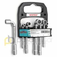 Kunci Sock L Set 6pt & 12pt WIPRO Double Ended L Shape Socket Wrench