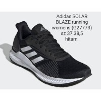 adidas solar blaze running hitam