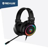 Rexus Headset Gaming Vonix F30 dengan led RGB free splitter