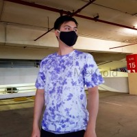 Kaos Baju Tie Dye Premium Cotton Combed 30s - Purple