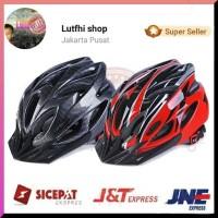 Helm Sepeda Bicycle Road Bike Helmet EPS Foam PVC Shell