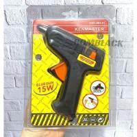 KENMASTER Glue Gun 15 watt 15w Alat Lem Tembak Tembakan Bakar Listrik