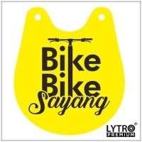Bike Tag - Bike Bike Sayang - Gantungan Sadel Sepeda