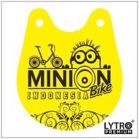 Bike Tag MINION BIKE Indonesia - Gantungan Sadel Sepeda