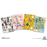 Buku Tulis GARIS Expo 52 lembar Locomotif PARIS - Murah SD SMP SMA - Paris