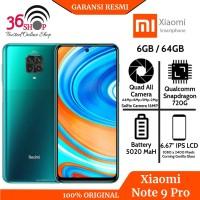 XIAOMI REDMI NOTE 9 PRO RAM 6/64 GB GARANSI RESMI Xiaomi Indonesia