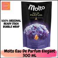 MOLTO EAU DE PARFUME ELEGANT BUNGA PERANCIS 300 ML PELEMBUT & PEWANGI