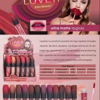 Pembelian 6 pcs)Kiss beauty lover matte