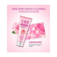 Facial Scrub Skin Cleanser Bioaqua Rose Moisturizing Cleansing