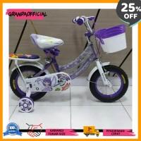 Grosir Sepeda Anak Perempuan Mini 12 Evergreen Daisy Keren