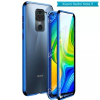 Magnetic Magnet Double Glass Cover Xiaomi Redmi Note 9