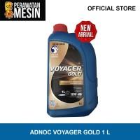 Oli Adnoc Voyager Gold 1 Liter - Adnoc Oil 5W 40 - Oli Motor Mobil