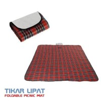 Tikar Piknik Lipat - Karpet Anti Air - Waterproof Foldable Picnic Mat