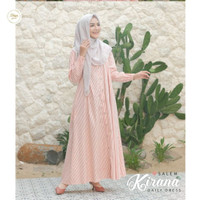 Baju Casual Dress Daster Gamis Kirana Daily Dress Wanita
