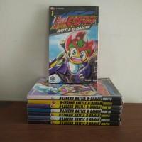 BEKAS SET - Buku Komik Battle B-Daman Bdaman - Inuki Eiji