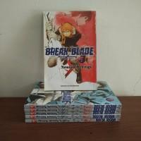 BEKAS SET - Buku Komik Break Blade - Yunosuke Yoshinaga