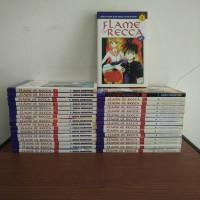 BEKAS SET - Buku Komik Flame of Recca - Anzai Nobuyuki