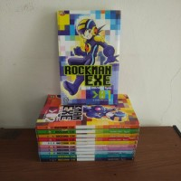 BEKAS SET - Buku Komik Rockman Exe - Takamazaki Ryou