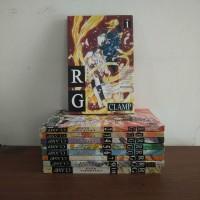 BEKAS SET - Buku Komik RG Legenda Suci - Clamp