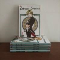 BEKAS SET - Buku Komik Princess Princess Plus - Mikiyo Tsuda