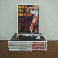 BEKAS SET - Buku Komik Manase Fire Investigator - Izo Hashimoto