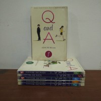 BEKAS SET - Buku Komik Q And A - Adachi Mitsuru