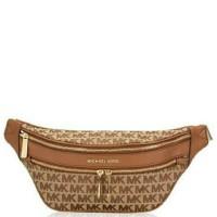 MK Belt bag sign brown